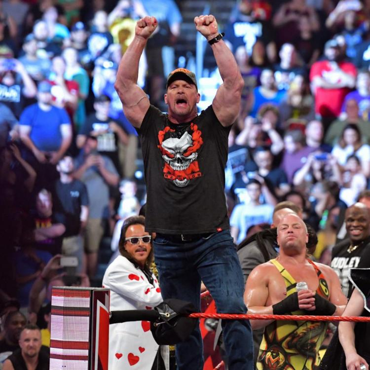 Stone Cold Steve Austin spoke about how WWE is his family during RAW Reunion.