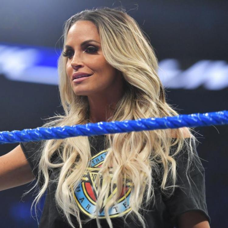 Trish Stratus goes one-on-one against Charlotte Flair at SummerSlam 2019.