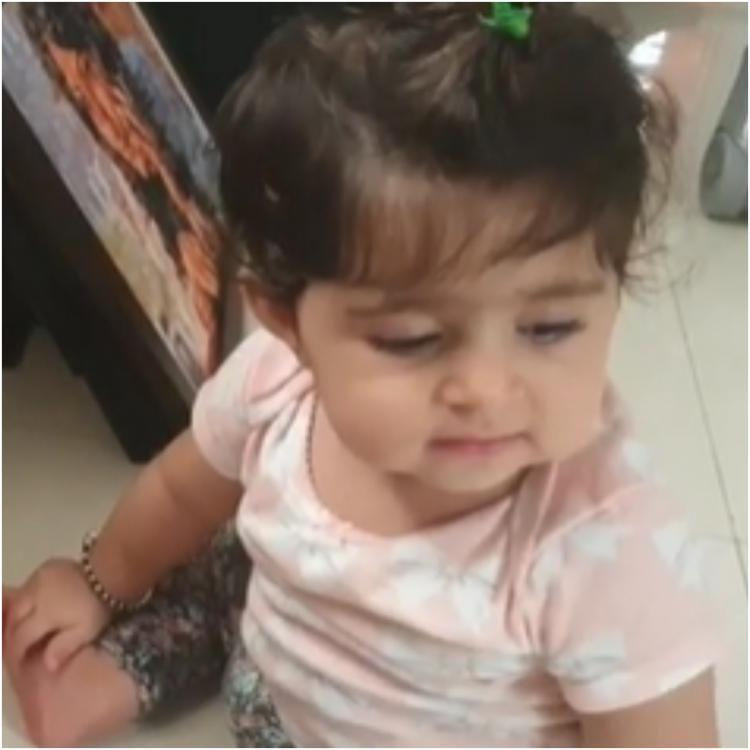 Radhika Pandit shares a cute video of Ayra recognising Yash without his beard in an old photo; WATCH