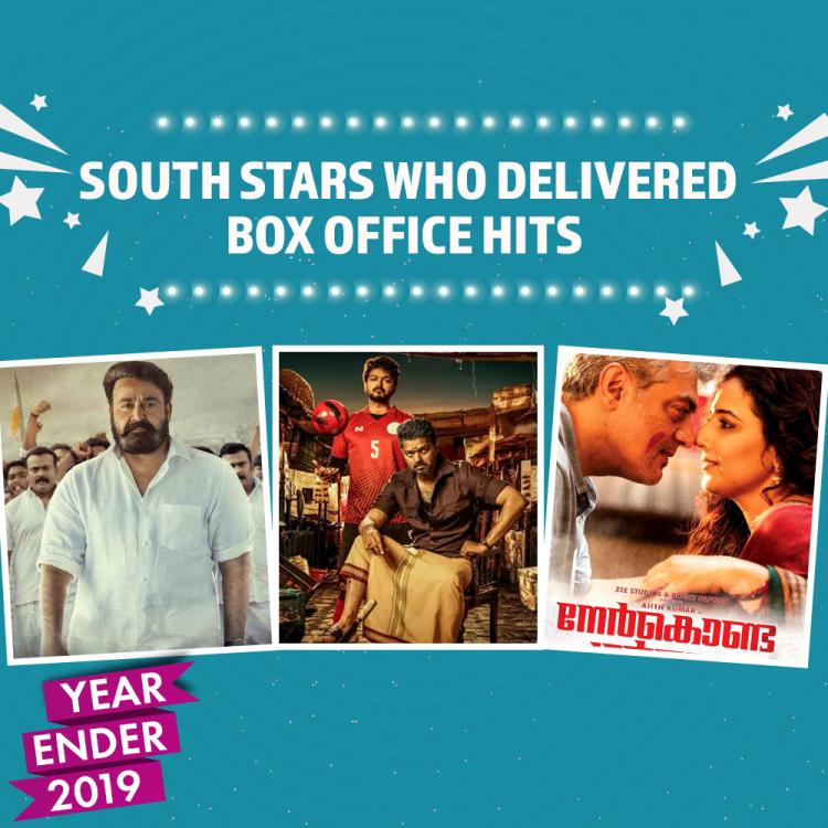 Yearender 2019: From Thalapathy Vijay to Ajith, Mohanlal, South stars who delivered box office hits