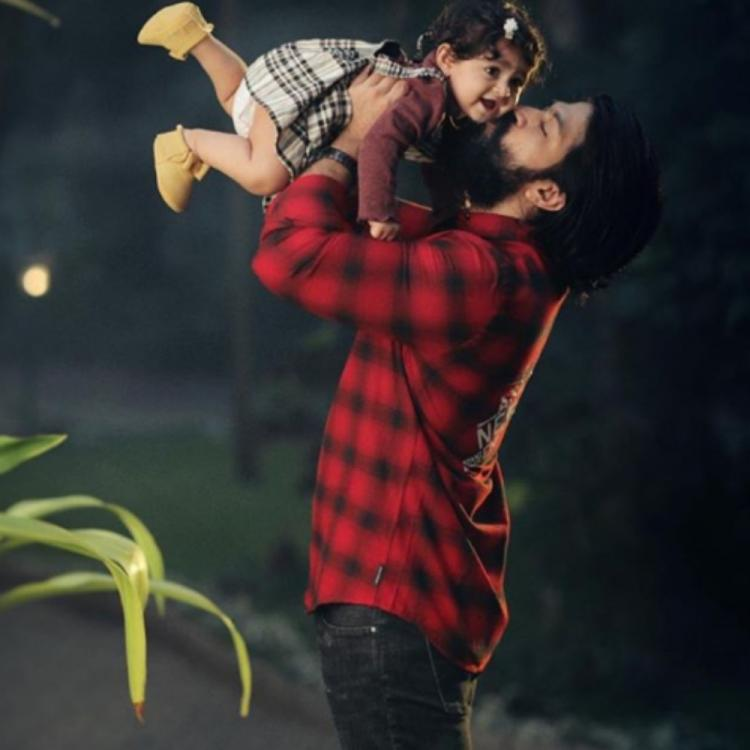 KGF star Yash wishes daughter Ayra on her birthday by sharing a cute PIC; Check it out