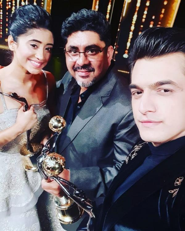 Yeh Rishta Kya Kehlata Hai: THIS selfie of Mohsin Khan, Shivangi Joshi & Rajan Shahi speak volume of teamwork