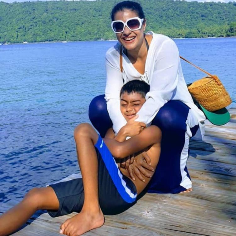 Kajol shares an endearing video on son Yug's birthday: Calls him 'Awesome at 3 & even more awesome sauce at 9'