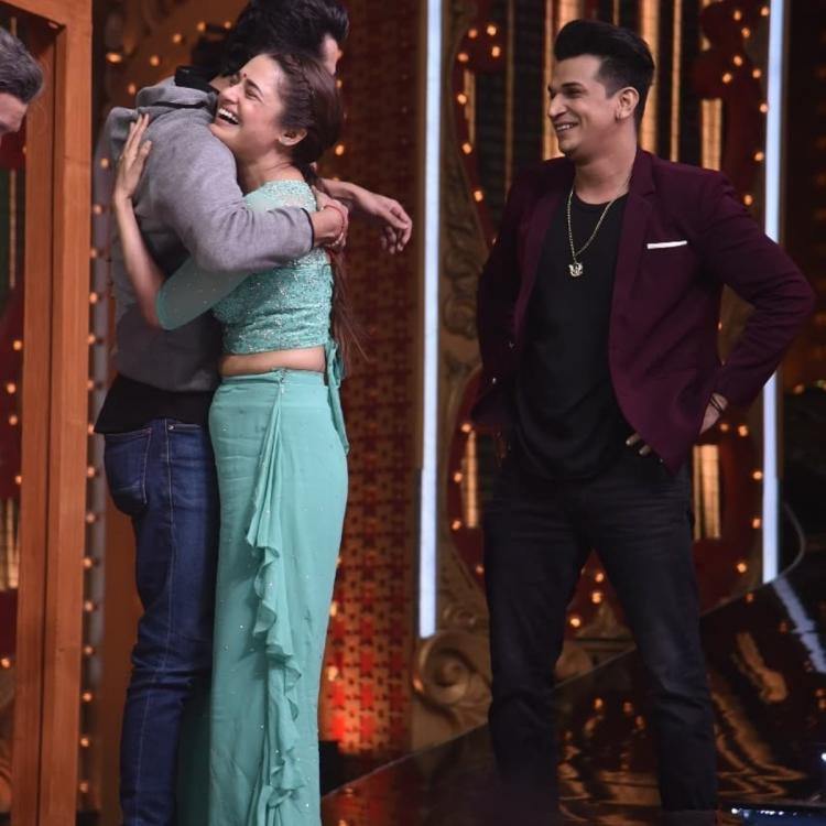 Nach Baliye 9: Yuvika Chaudhary gets a lovely surprise as her brother Akash visits the sets; View pics