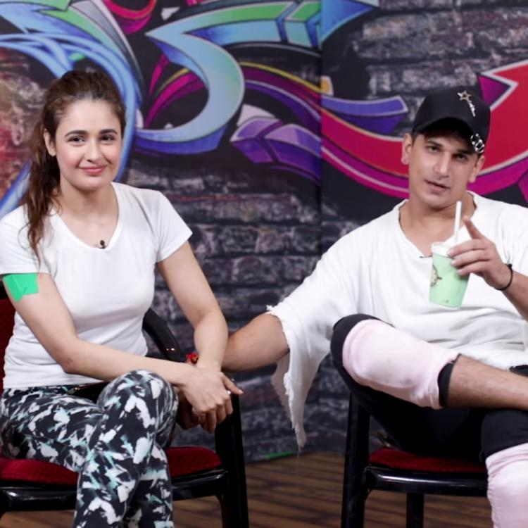 EXCLUSIVE VIDEO: Yuvika Chaudhary on Love Talkies reveals 'Prince Narula has tears when he saw me in wedding l