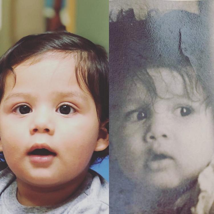 Shahid Kapoor shares an endearing collage of son Zain and his childhood pic; calls it 'like father like son'