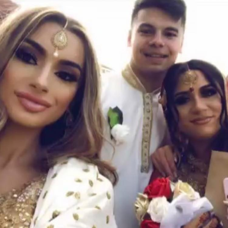 Safaa Malik and Martin Tiser got married just three days after the former's 17th birthday on September 13, 2019.