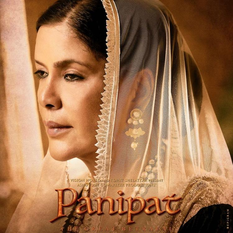 Panipat New Poster: Zeenat Aman as Sakina Begum turns into a friend in disguise for the Marathas