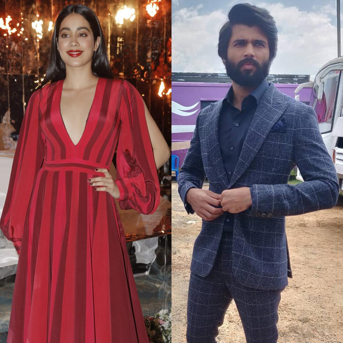 Janhvi Kapoor and Vijay Deverakonda