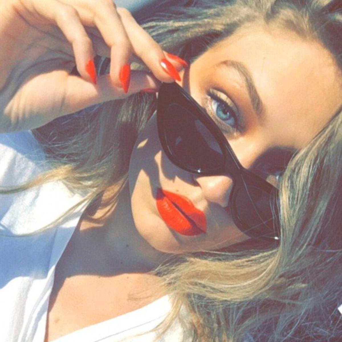 Check out these lip shades donned by Gigi Hadid
