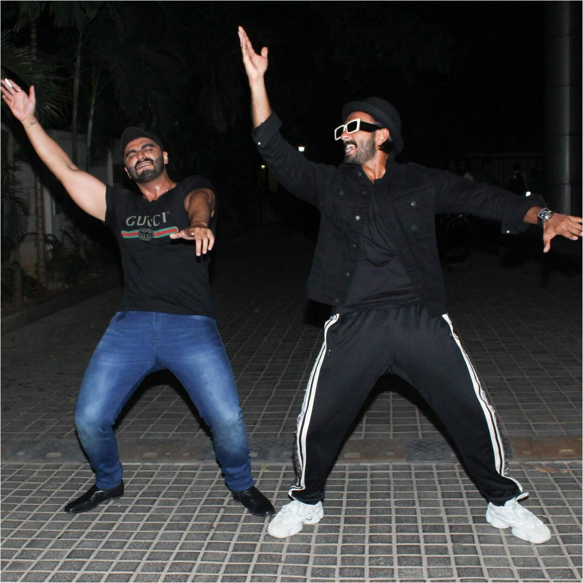 PHOTOS: Ranveer Singh and Arjun Kapoor share a great camaraderie; Check it out