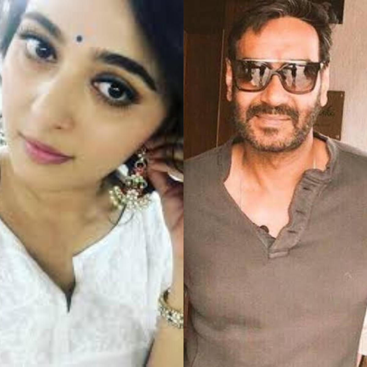 Anushka Shetty and Ajay Devgn
