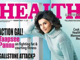 Magazine Covers,Taapsee Pannu,health and nutrition magazine