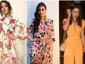 Celebrity Style,Priyanka Chopra,anushka sharma,diana penty,Abraham and Thakore,Pero by Aneeth Arora,Three Graces