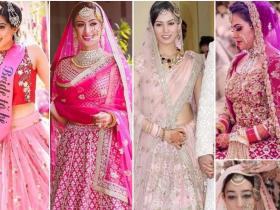 Style Tips,pink lehengas