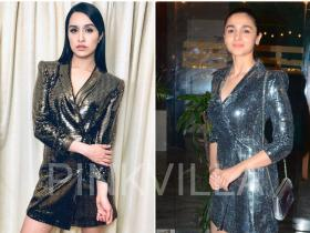 zara,shraddha kapoor,alia bhatt,Faceoffs,metallic dress