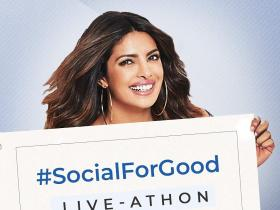 Discussion,Priyanka Chopra,Facebook,#SocialForGood