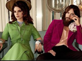 Celebrity Style,gucci,campaign,Gucci Beauty,Gucci Guilty,Lana Del Rey,Jared Leto,Courtney Love,Vintage Inspired