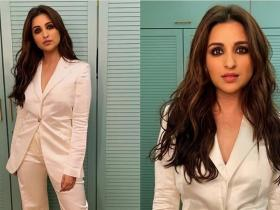 Celebrity Style,fashion,parineeti chopra,pantsuit