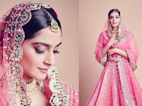 Celebrity Style,sonam kapoor,fashion,Lehenga