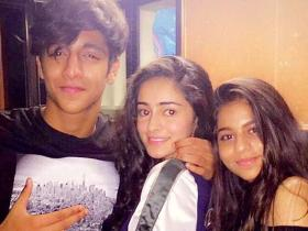 Photos,star kids,SRK,Suhana Khan,Deanne Panday,ahaan panday