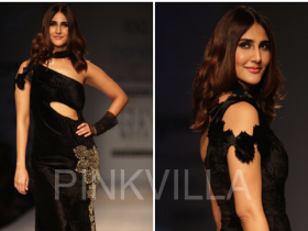 Celebrity Style,vaani kapoor,Rina Dhaka,Amazon India Fashion Week,AIFWAw17