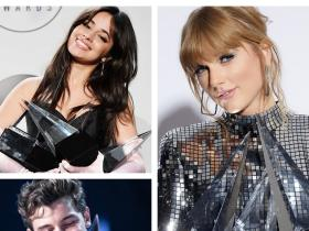 News,taylor swift,Camila Cabello,Shawn Mendes,BTS,American Music Awards 2018,AMA's 2018
