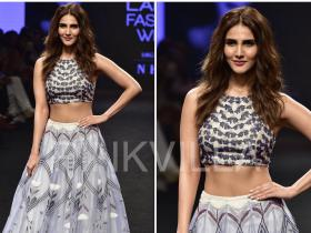 Celebrity Style,lakme fashion week,vaani kapoor,Agamo by Neha Agarwal