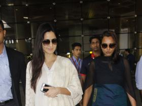 Photos,Katrina Kaif,Sanjay Dutt,Zareen Khan,Katrina Kaif Airport,Katrina dress,Katrina white suit