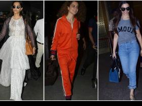 Celebrity Style,Airport Fashion,Airport looks,Airport looks by celebrities