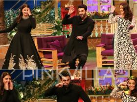 Photos,Ranbir Kapoor,Karan Johar,Aishwarya Rai Bachchan,Kajra re,kapil sharma,sunil grover,Ae Dil Hai Mushkil,Anushka Sharma,The Kapil Sharma Show