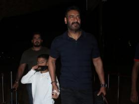 Photos,Ajay Devgn,Yug Devgn