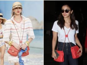 Celebrity Style,Chanel,alia bhatt,airport,Off White