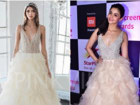 Celebrity Style,ami patel,alia bhatt,Winnie Couture,Screen Awards 2018