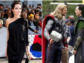 News,angelina jolie,Tom Hiddleston,Chris Hemsworth