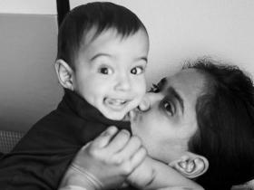 Photos,star kids,Aayush Sharma,Arpita Khan Sharma,Valentines Day,Ahil,Ahil Khan Sharma,valentines