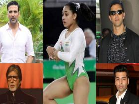 Discussion,Twitter,Dipa Karmakar,Olympics,Bollywood celebrities