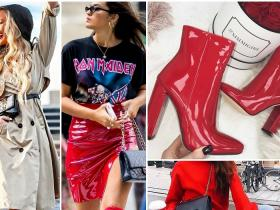Celebrity Style,Red Boots