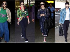 Celebrity Style,Airport Fashion,Airport looks,bollywood airport stylem