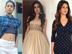 Celebrity Style,Mouni Roy,Hina Khan,divyanka tripathi,mouni roy gold,mouni roy fashion,mouni roy akshay kumar,hina khan trolls,hina khan hot,hina khan komolika