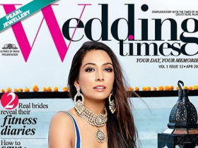 Magazine Covers,Monica Dogra,Wedding Times