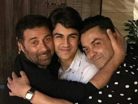 Discussion,bobby Deol,Aryaman Deol