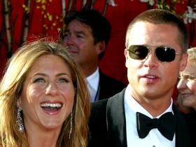 Brad Pitt,jennifer aniston,Hollywood