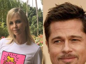 News,Brad Pitt,Charlize Theron