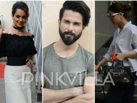 Photos,Kangana Ranaut,Shahid Kapoor,Kareena Kapoor Khan,Rangoon,Taimur Ali Khan,celeb spotting,rangoon promotions