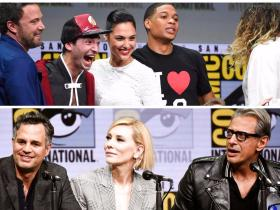 Photos,Tom Hiddleston,Justice League,Ben Affleck,Gal Gadot,Chris Hemsworth,Mark Ruffalo,Thor Ragnarok,Comic Con 2017,Chadwick Boseman,Black Panther