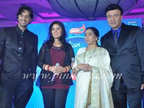 Photos,sunidhi chauhan,Anu Malik,Asha Bhonsle,Sony Indian Idol