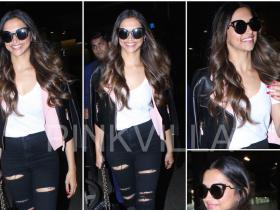 Chanel,deepika padukone,fendi,airport,TopShop,Forever 21,Tods,Style Tips