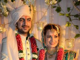 Photos,Dia Mirza,Sahil Sangha,wedding