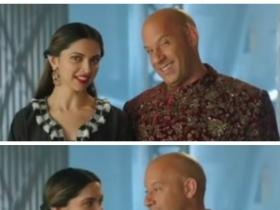Video,Deepika Padukone,Vin Diesel,XXX: The Return of Xander Cage,Deepika Vin,Deepika Vin Diwali wishes,Diwali Party 2016